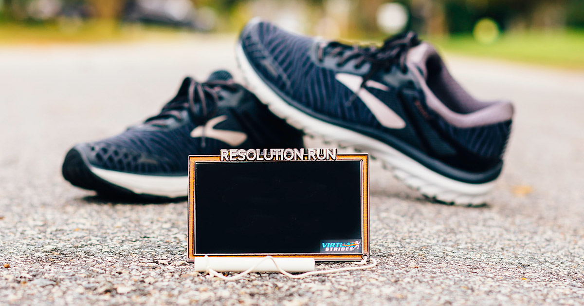 Resolution Run Virtual Race