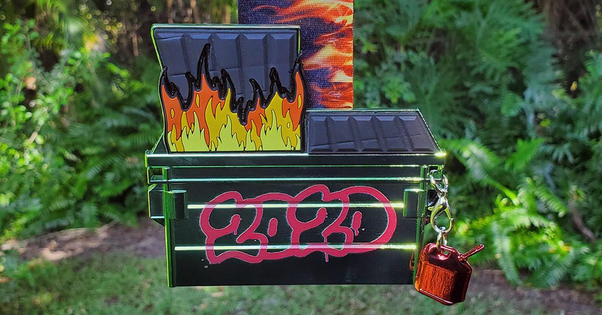 Dumpster Fire Virtual Race