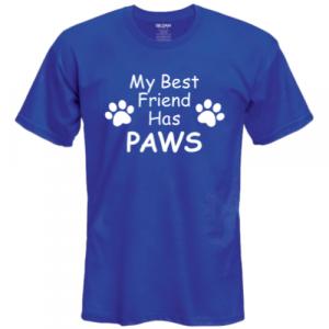 Best Furry Friends Shirt - Blue