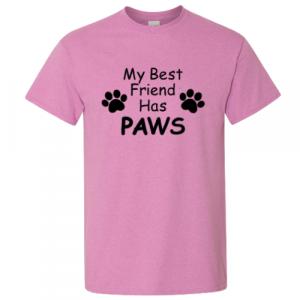 Best Furry Friend Shirt - Pink