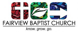 A Mile In My Shoes - Fairview Baptist Church logo