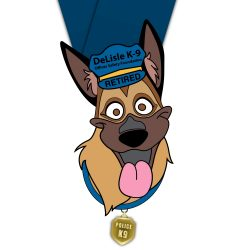 Paws For The Law 2021 medal