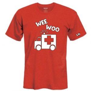 Red Woo Ambulance Shirt
