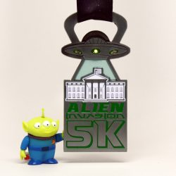 Alien Invasion 5k Medal Photo