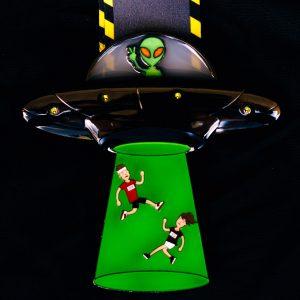 Virtual Strides Virtual Run - Area 51 UFO Medal