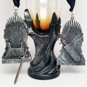 Virtual Strides Virtual Race - Bend the Knee Iron Throne Medal
