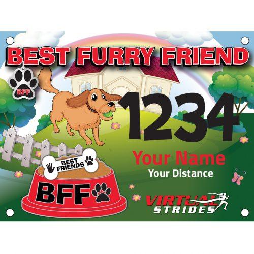 Best Furry Friend bib