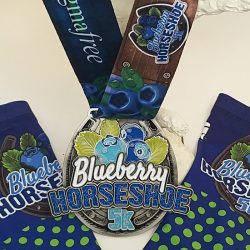 Blueberry Horseshoe Medal Photo