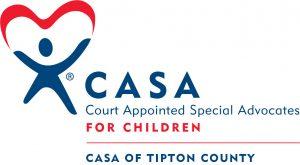 Virtual Strides Virtual Race - CASA of Tipton County logo