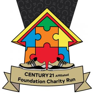 Virtual Strides Partner Virtual Race - Century 21 Affliated Foundation Charity Run medal
