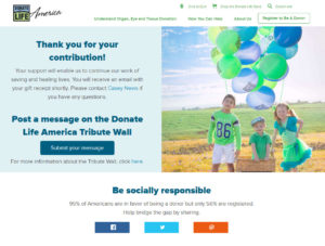 Donate Life America Virtual Race Donation