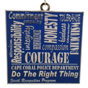 Virtual Strides Partner Virtual Race - Do The Right Thing medal