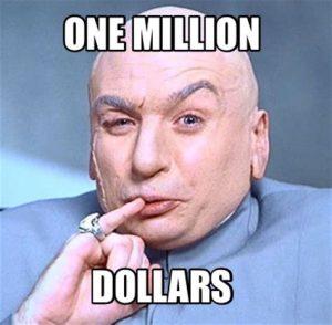 Dr. Evil - One Million Dollars