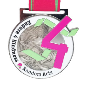 Virtual Strides Partner Virtual Race - Endure 4 Kindness Random Acts Medal