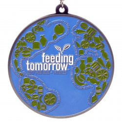 Feeding Tomorrow Medal Photo