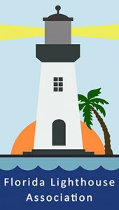 Virtual Strides Virtual Run - Florida Lighthouse Association logo