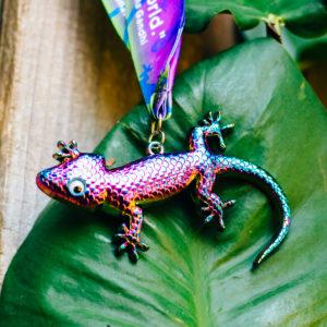 Virtual Strides Virtual Race - Glorious Gecko Medal