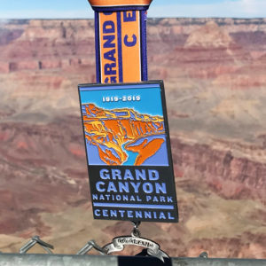 Virtual Strides Virtual Race - Go Grand Grand Canyon National Park Centennial medal