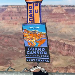 Virtual Strides Virtual Race - Go Grand Grand Canyon National Park Centennial medal