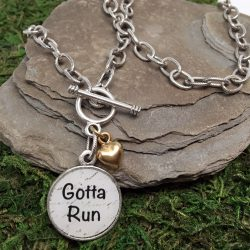 Gotta Run Necklace