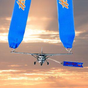 Virtual Strides Virtual Run - Honor Flight Spinning Propeller Airplane Medal