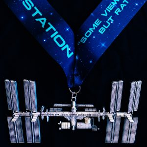 Virtual Strides Virtual Run - International Space Station race medal