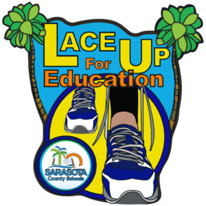 Virtual Strides Partner Virtual Race - Lace Up For Education 5k