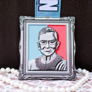 Virtual Strides Virtual Run - Notorious RBG Ruth Bader Ginsburg framed race medal