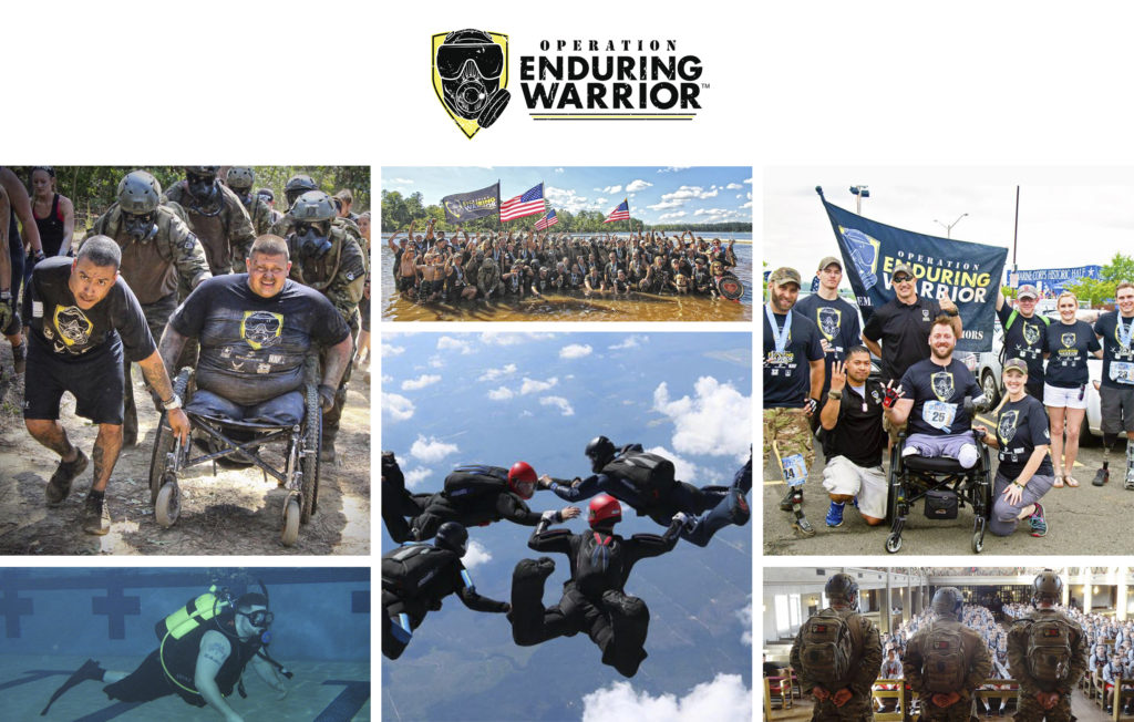 Virtual Strides Virtual Race - Operation Enduring Warrior Photo Collage