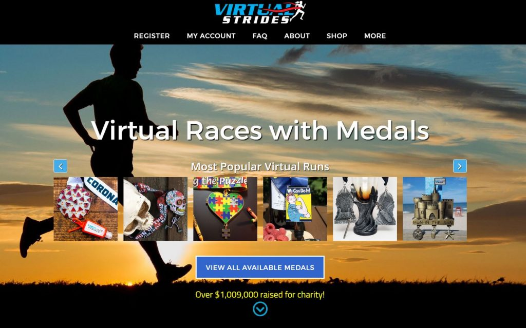 Virtual Strides: Over $1 million raised for Charity!