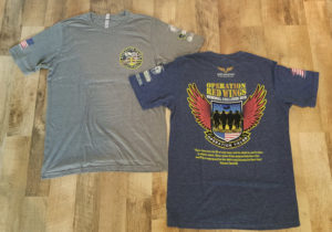 Virtual Strides Virtual Race - Operation Red Wings Memorial Run Shirts