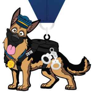 Virtual Strides Partner Virtual Race - Paws for the Law 2018