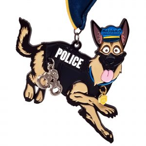 Virtual Strides Partner Virtual Race - Paws for the Law 2019