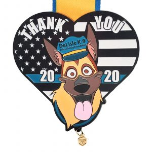 Virtual Strides Partner Virtual Race - Paws for the Law 2020
