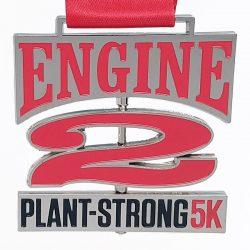 Plant-Strong 5k Medal