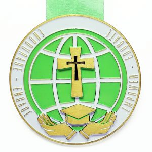 Virtual Strides Partner Virtual Race - Race For Scholars medal