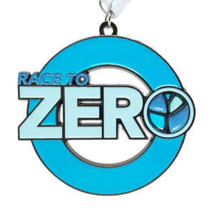 Virtual Strides Partner Virtual Race - Race to Zero Sexual Violence Medal