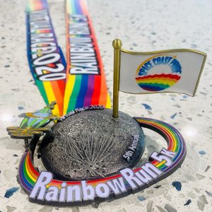 Rainbow Run 2020 Medal