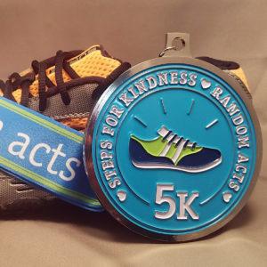 Virtual Strides Partner Virtual Race - Steps for Kindness Medal
