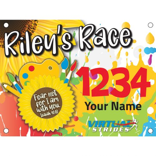Rileys Race Bib