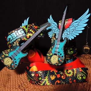 Virtual Strides Virtual Race - RockStar guitar medal