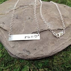 Run Bar Necklace