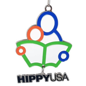 Virtual Strides Partner Virtual Race - HIPPY USA medal