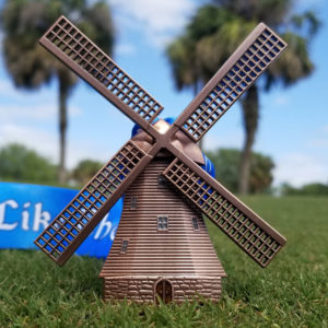 Virtual Strides Virtual Race - Run Like The Dutch Windmill Medal