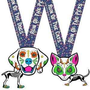 Virtual Strides Virtual Run - Run of the Pets Medal