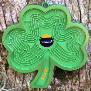 Virtual Strides Virtual Race - Shamrock Shaker Maze Game Medal