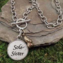 Sole Sister Necklace