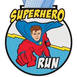 Virtual Strides Partner Virtual Race - Superhero Run 2020 Medal
