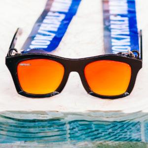 Virtual Strides Virtual Race - The Future's So Bright Sunglasses Medal