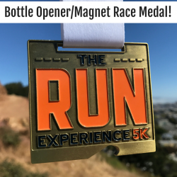 The Run Experience Bottle Opener Medal